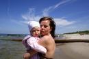 Na plaży wDziwnowie