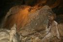 Jaskinia Bielska - draperia naciekowa