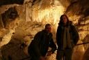 Jaskinia Bielska - Komora Długa, wapienny wodospad