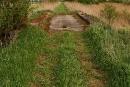Widok odstrony grobli
