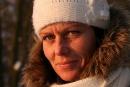 Zimowo - portretowo