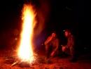 Walka o ogień na żwirowni na Wysokiej
