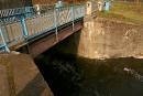Świetnie zachowany most rolkowy Kipprollbrücke K602
