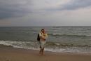 Spacerując…c brzegiem morza