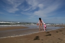 Na plaży w Pobierowie