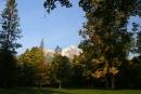 Widok na z parku na Łomnice