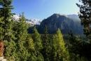 Na szlaku, widok na Dolinę Mięguszowiecką