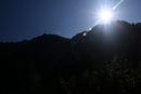 Osterwa i niżej Przełęcz pod Osterwą