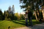 Magda i Filip na tle Tatr