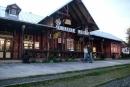 Dworzec wTatrzańskiej Łomnicy