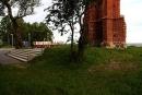 Ruiny kościoła wTrzęsaczu odpołudniowo-wschodniej strony