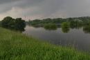 Widok zokolic mostu Lecha