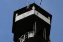 Atek na szczycie wieży