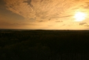 Zachód słońca zwieży