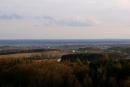Widok z wieży na Drezdenko