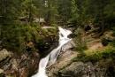 Wodospady Zimnej Wody - kaskada Małego Wodospadu