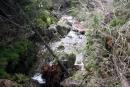 Wodospady Zimnej Wody - poniżej Olbrzymiego Wodospadu