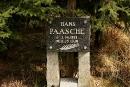 Grób i miejsce śmierci Hansa Paasche