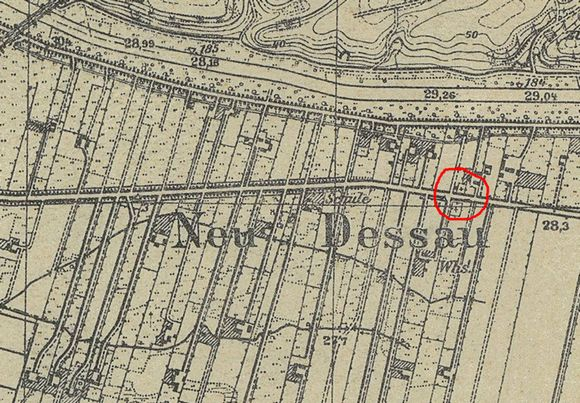 Kosin (gmina Drezdenko) Kosin_mapa_1941