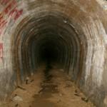 Wnetrze tunelu odwadniającego