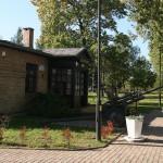 Budynek muzeum obozu