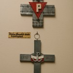 Fragment ekspozycji w muzeum obozu Oflag II C