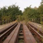 Północny kraniec mostu, kierunek naChrzypsko Wlk.