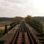 Widok napołudniowy kraniec mostu