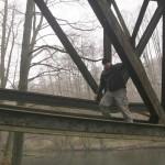 Autor na..., a właściwie pod mostem