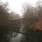 Most nad Gwdą w całej okazałości