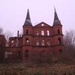 Pałac wJuchowie, elewacja frontowa