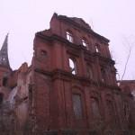 Pałac wJuchowie, elewacja tylna