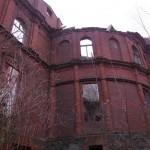 Pałac wJuchowie, zachodnie skrzydło