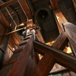 Większy dzwon pochodzi z1612, mniejszy z1683 roku