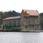 Budynek elektrowni, widok od strony Zalewu Bledzewskiego
