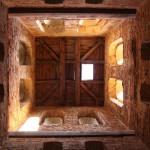 Wnętrze dzwonnicy kościoła Ścięcia św.Jana Chrzciciela wChojnicy